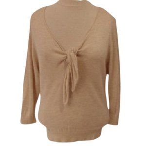 *3 For $25* H&M Tie Front Sweater VGUC- Sz. XS